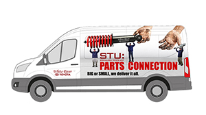 Parts Delivery Van Wrap - White River Toyota