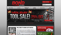 Bond Auto Parts Website