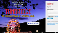 Tunbridge Xfinty Sign-in Takeover - White River Toyota