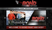 Bond Paint and Body Website