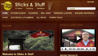 Sticks and Stuff Website